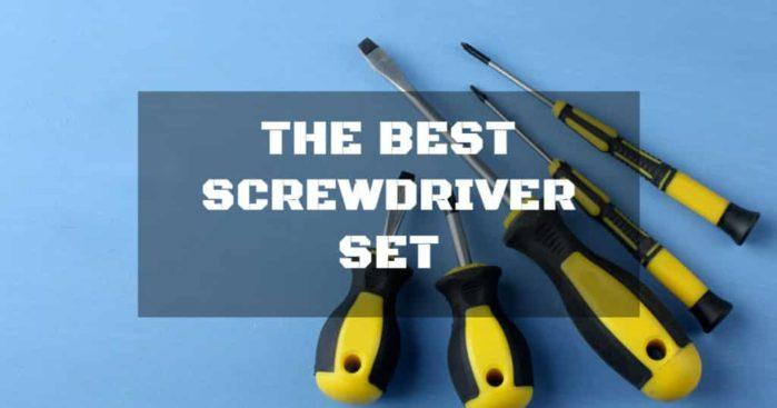 What Makes the Best Screwdriver Set: Things to Look Out For?