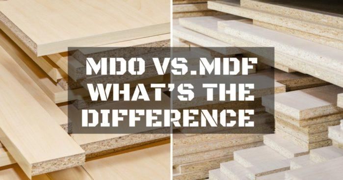 Mdo Vs Mdf What S The Difference Trust Me This Is