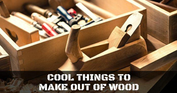 cool things to make out of wood