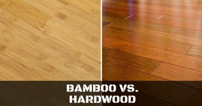Bamboo Vs. Hardwood