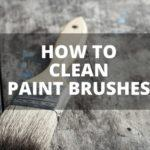 Paint brush cleaning techniques