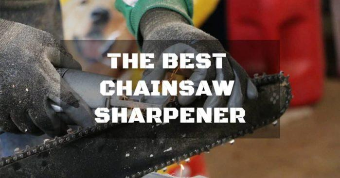 The best chainsaw sharpener