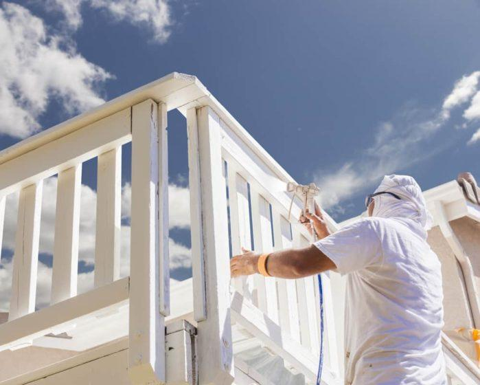 Why do painters wear white