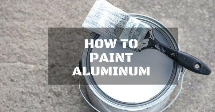 How to Paint Aluminum Furnishings Like a Pro!