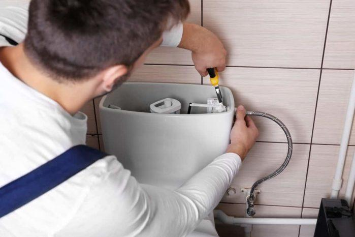 How to Paint Behind Toilet