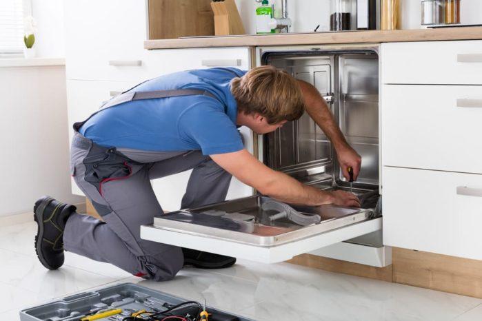 Unplugging the Dishwasher