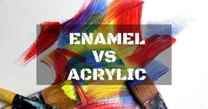 Things You Need To Know: What is the Difference between Enamel vs. Acrylic?
