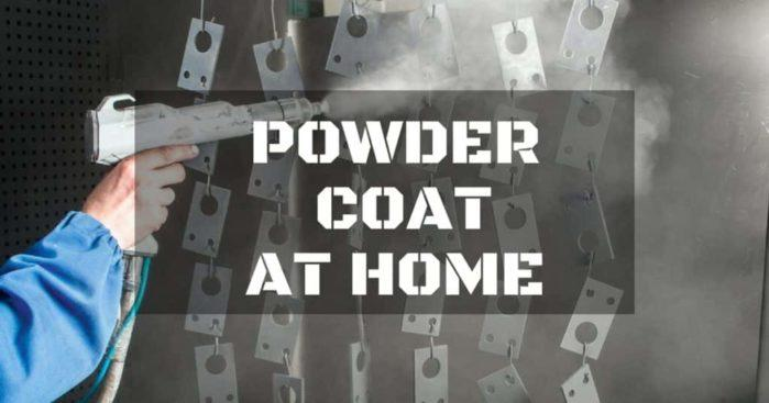 Powder Coating: How to Do It at Your Home?