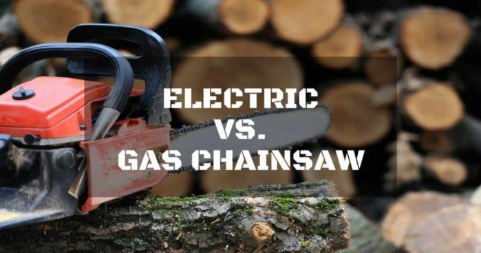 Electric Vs Gas Chainsaw