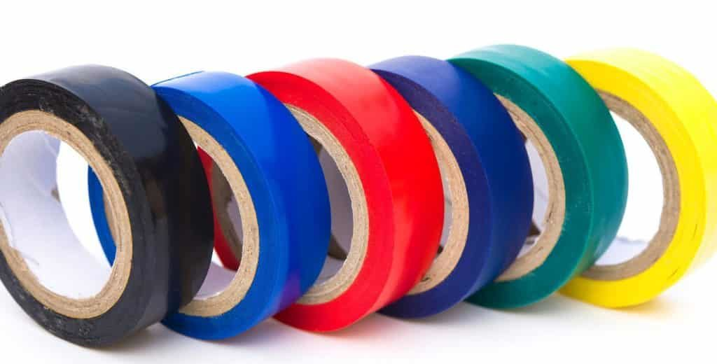 Different Color Electrical Tapes