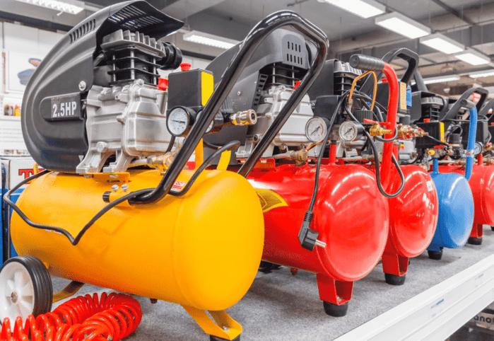 Electric-powered air compressor