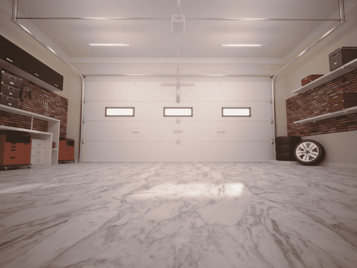how to convert a garage into a bedroom without removing the garage door