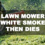 Lawn Mower White Smoke Then Dies: What Are the Causes?