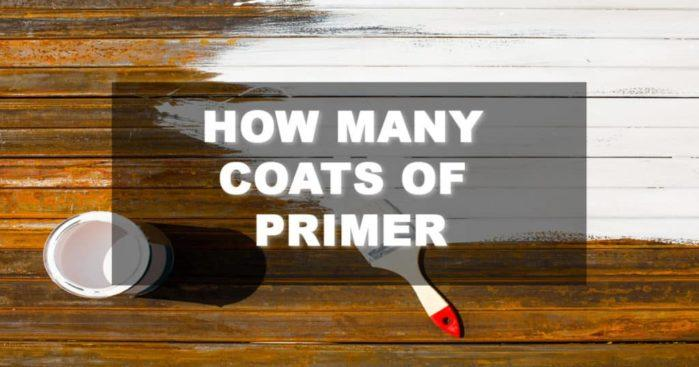 How Many Coats of Primer Do You Need? Painters, You Need to Know This!