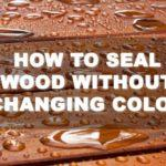 Everything You Need to Know on How to Seal Wood Without Changing Color