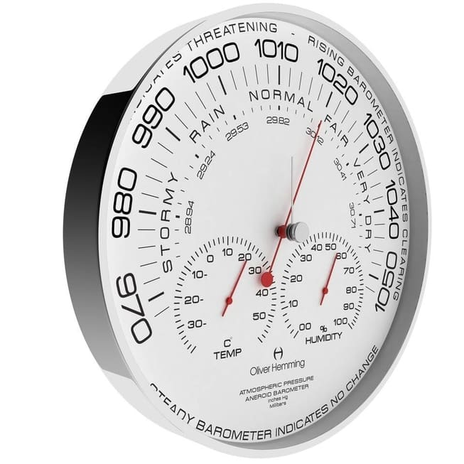 Clock With Humidity Reading