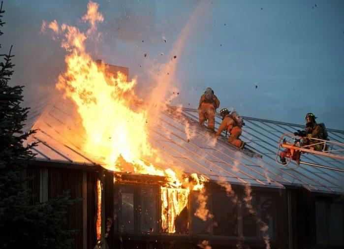 Cause of house fires