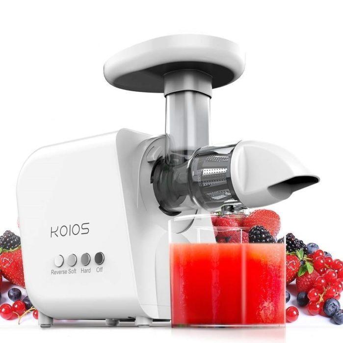 KOIOS Juicer, High Juice Yield and GERMANY EMGEL Motor