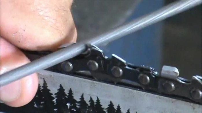 Sharpen Chainsaw