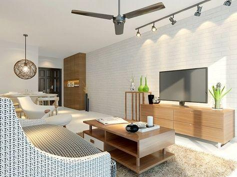 Artistic elements of HDB interior design