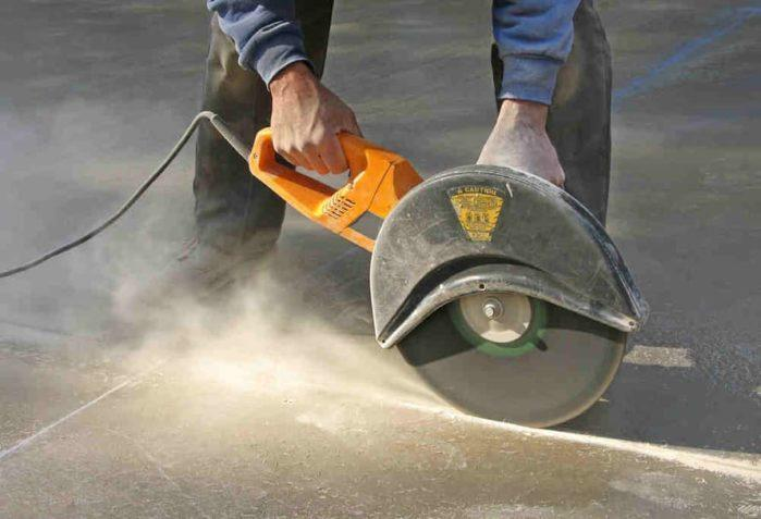 Concrete cutting safety tips