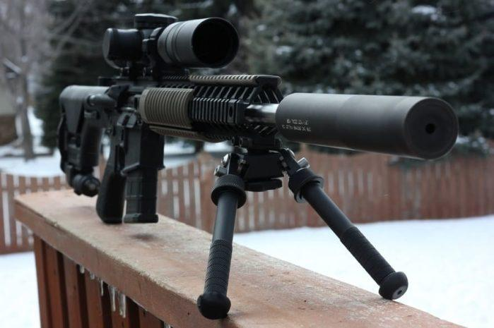 Rifle scope with camera