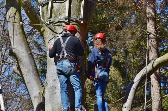 Tree climbing gear