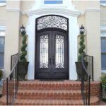 How To Restore Wrought Iron Door & Maintain It.