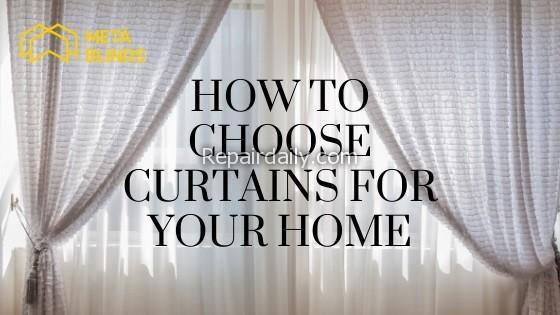 choose curtains