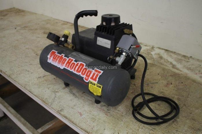 an air compressor