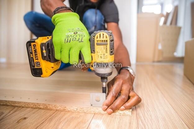 using drill DIY
