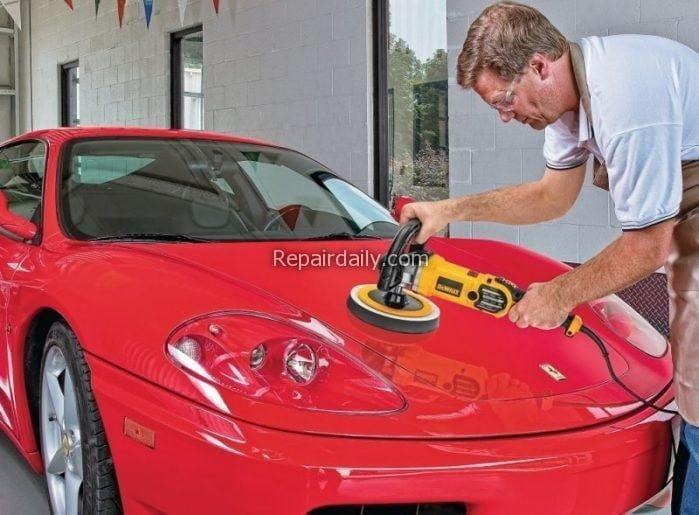 polishing_car