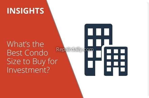 whats the best condo size to buy for investment