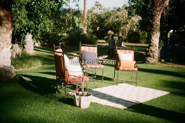 outdoor garden aesthetic