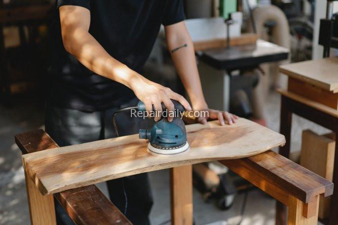How do you sand hardwood floors yourself