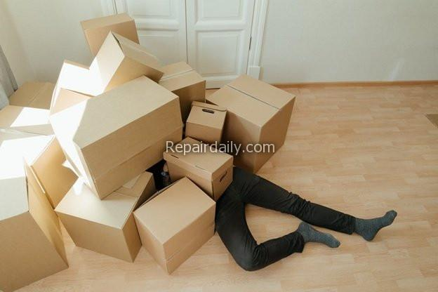 moving box man