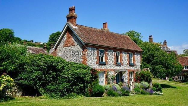stone style house